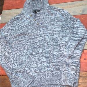 Kenneth Cole Blue Grey Sweater